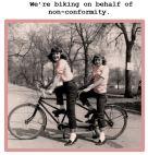 Biking for Nonconfirmity